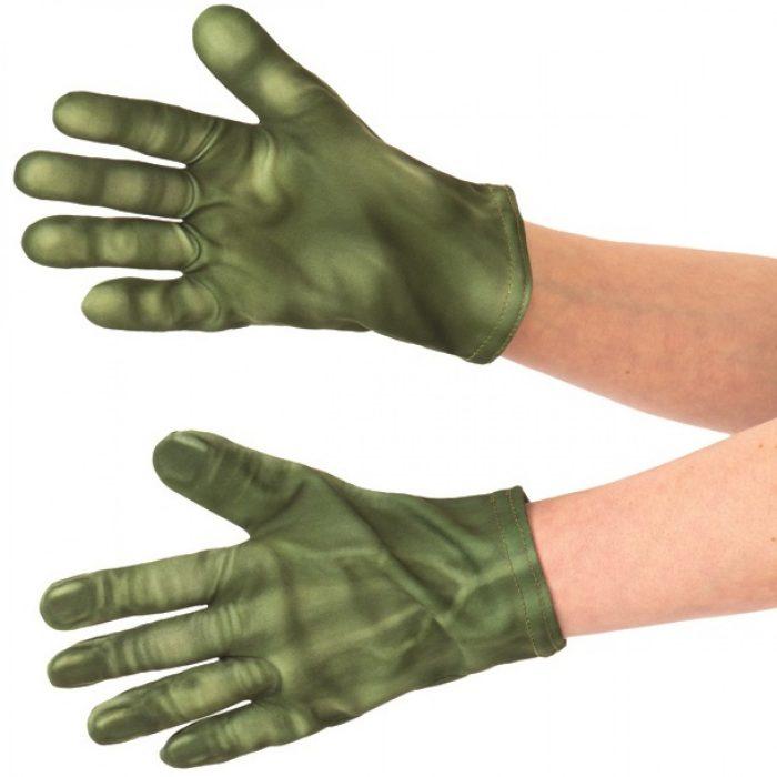 Hulk Kid Costume Gloves