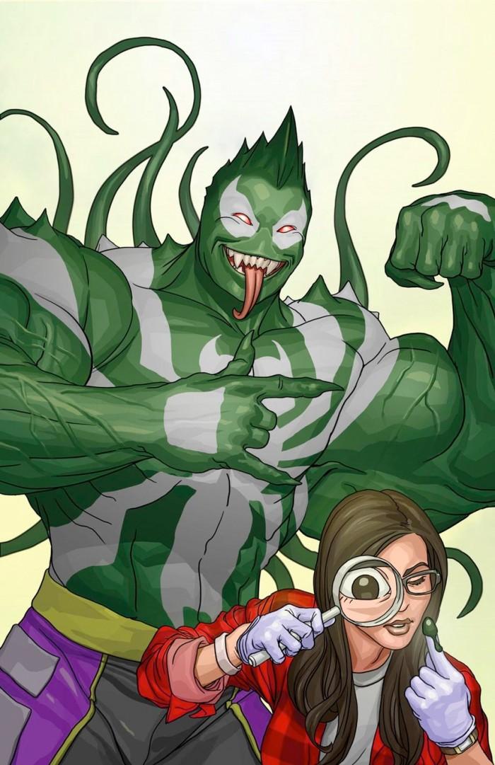 Hulk Venom Variant