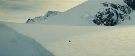 Arctic scene fron The Incredible Hulk