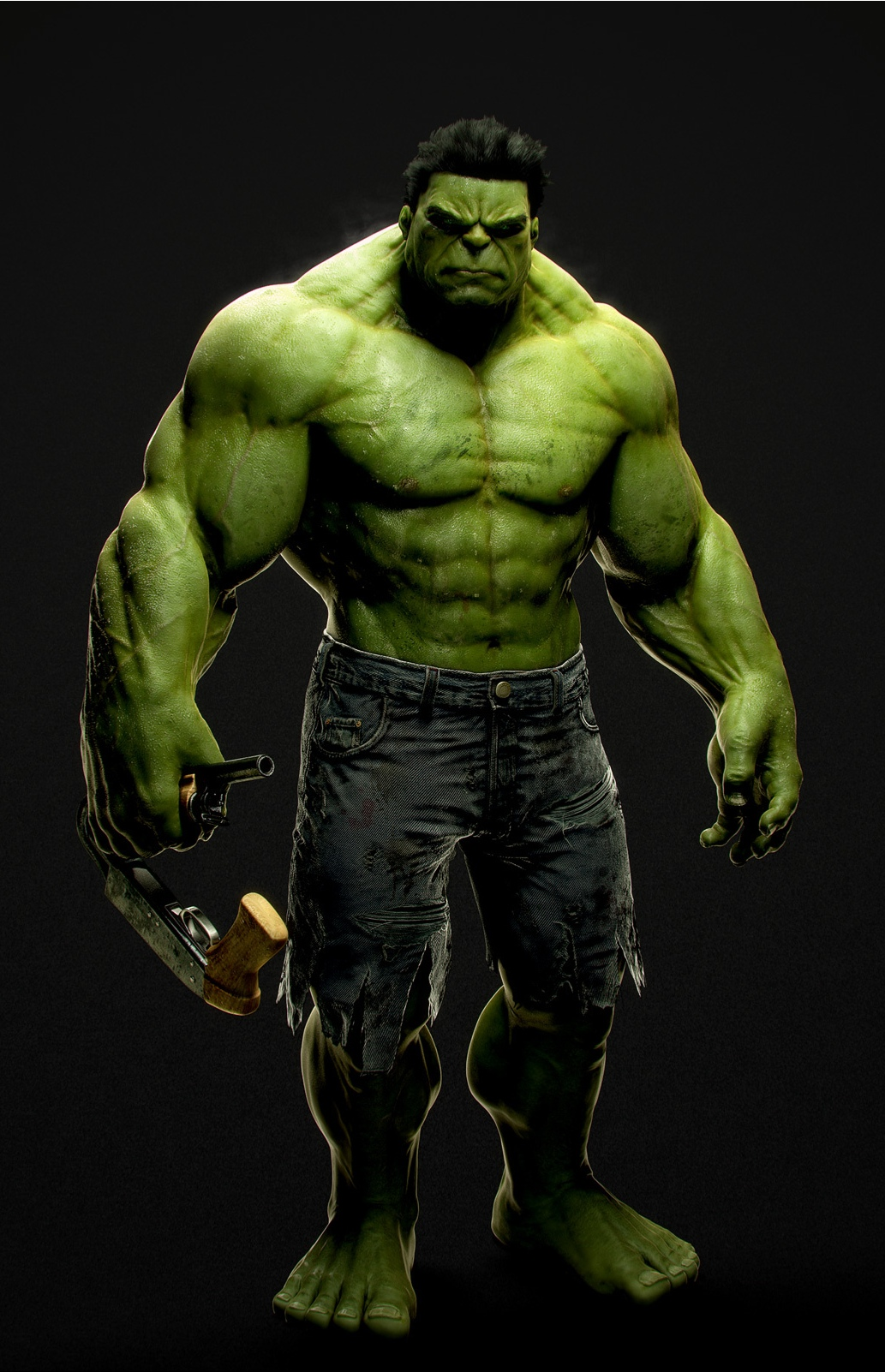 This is a graphic of Irresistible Incredible Hulk Image