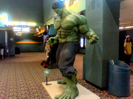 The Incredible Hulk Statue