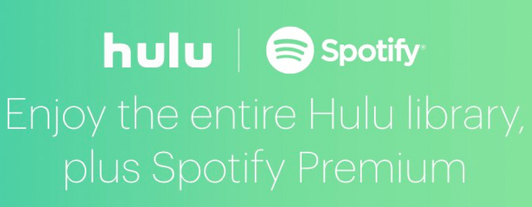 new spotify hulu subscription deal has both services for one price. Black Bedroom Furniture Sets. Home Design Ideas