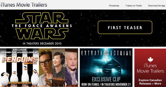 second star wars force awakens trailer