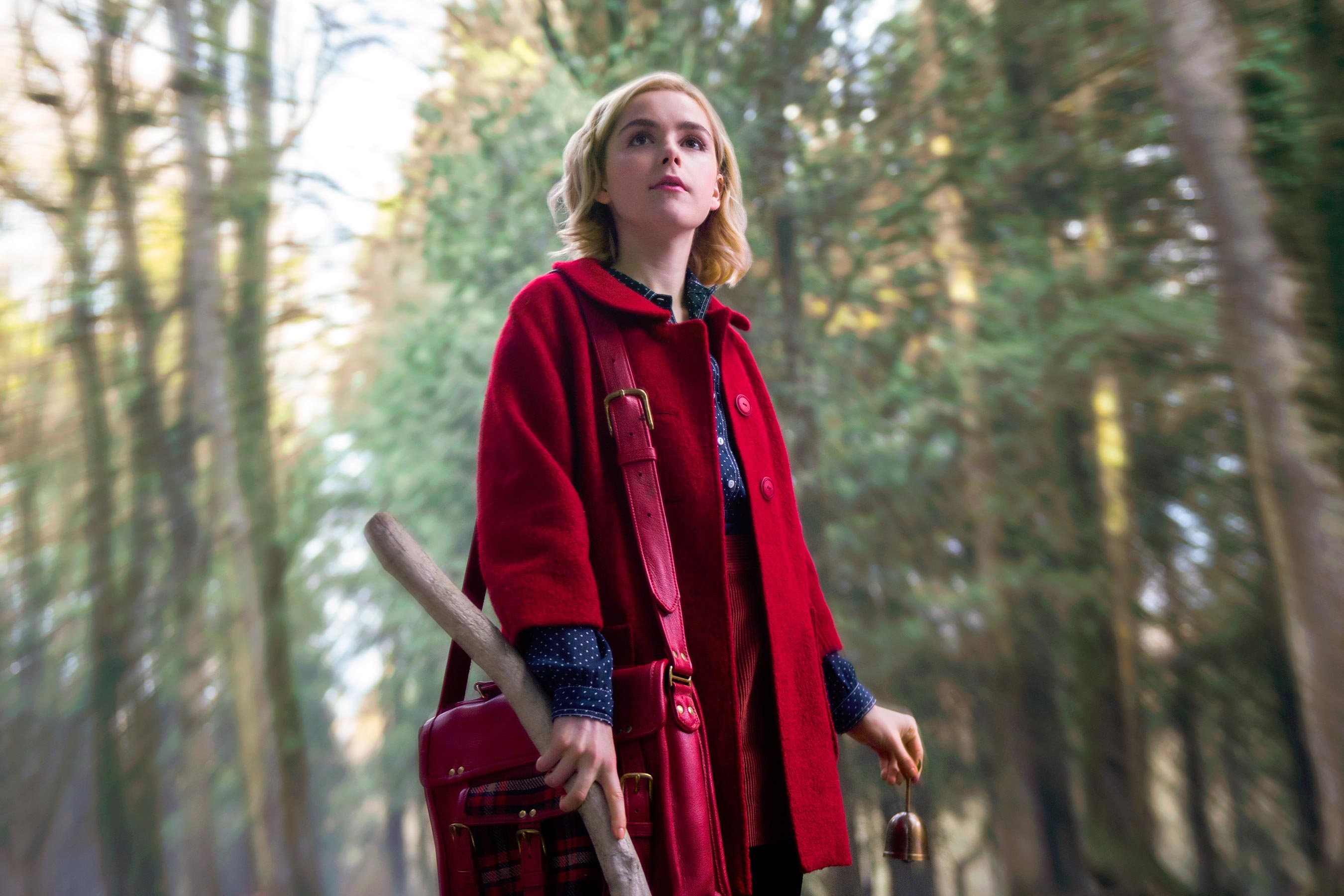 'Chilling Adventures of Sabrina' Season 1 Photos Include Dark Baptism