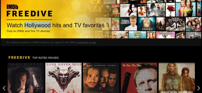 imdb streaming service