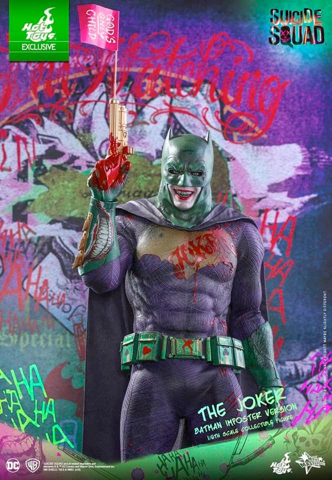 The Joker Imposter Batman - Hot Toys