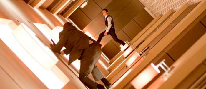 Walking on Walls in Movies
