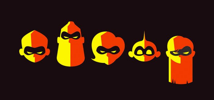 Gallery Nucleus - Incredibles 2 Art Show