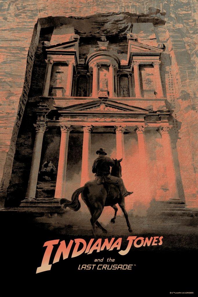 Indiana Jones and the Last Crusade Print - Hans Woody