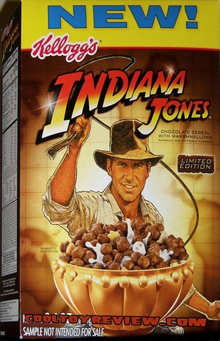 Indiana Jones Cereal