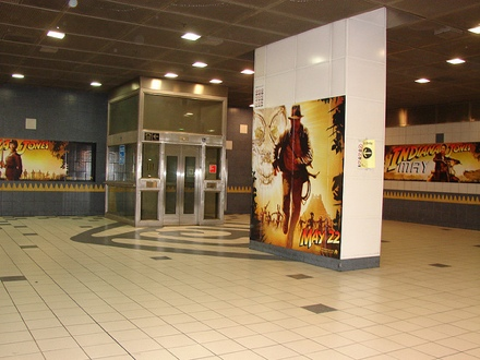 Indiana Jones in Universal City Metro Station