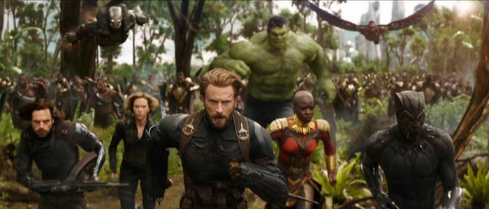 Avengers Infinity War Wakanda Battle