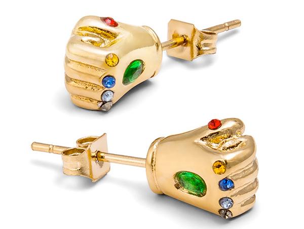 Infinity Gauntlet Stud Earrings