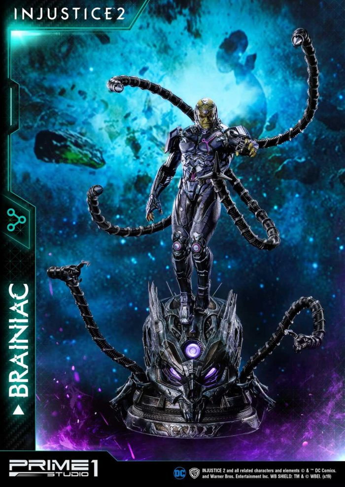 Injustice 2 - Brainiac Statue