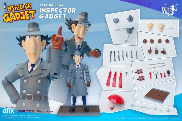 Inspector Gadget Action Figures