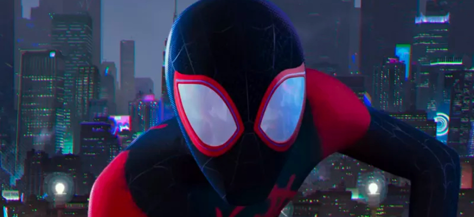 Into The Spider Verse Clip Miles Morales Takes A Leap Of Faith Film