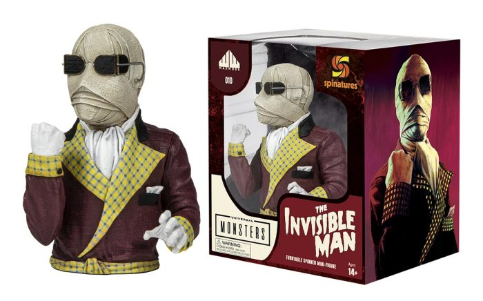 Invisible Man Spinature