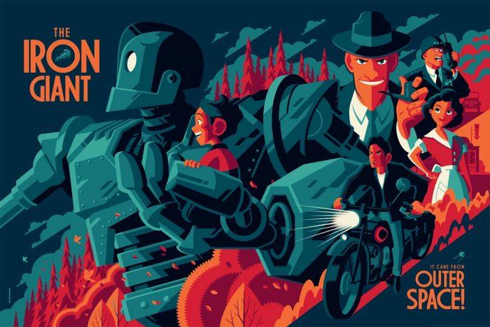 Tom Whalen - The Iron Giant (Variant)