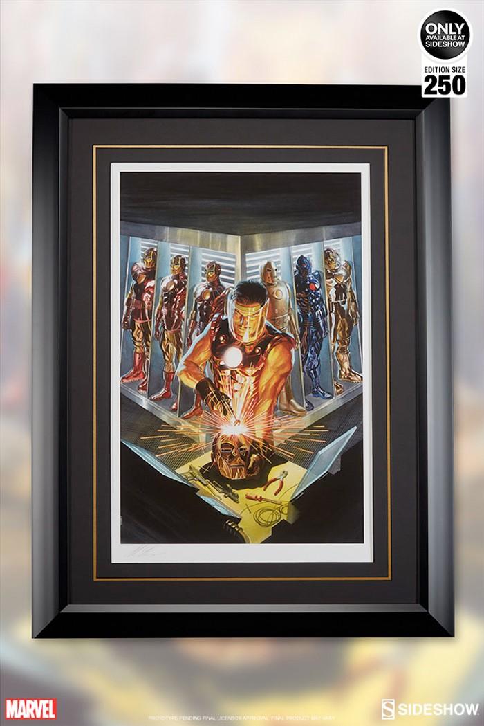 Iron Man - Alex Ross Print