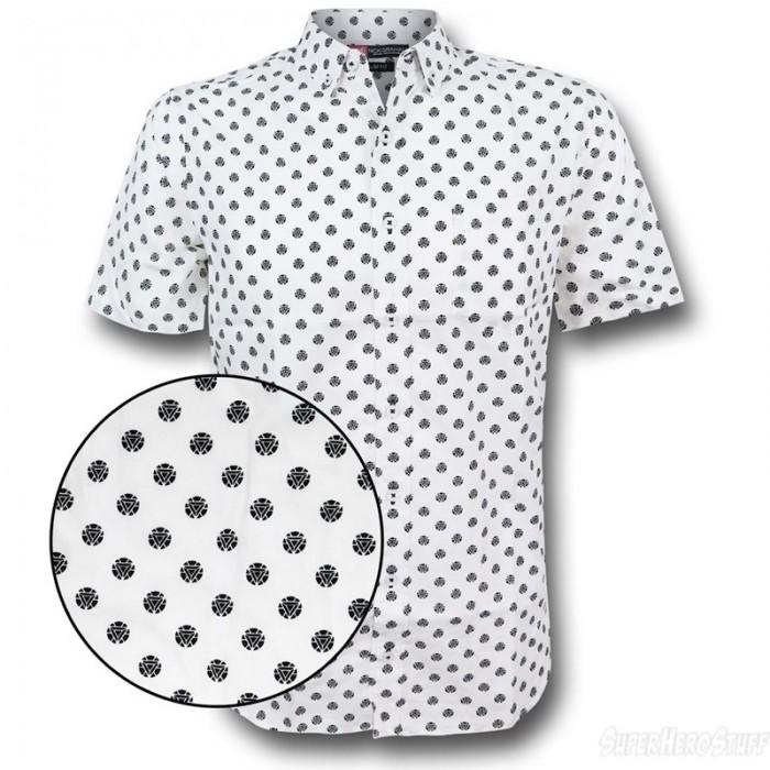 Iron Man Button Down Shirt
