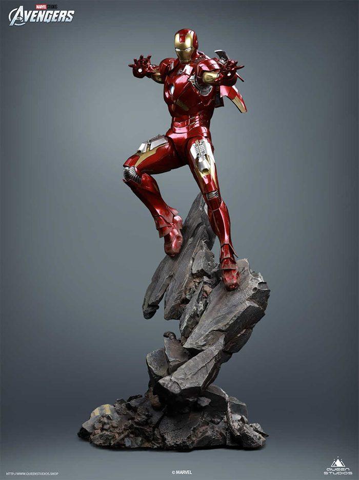 Queen Studios - Iron Man Statue
