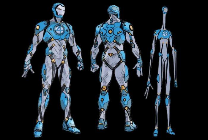 Iron Man Fantastic Four Armor
