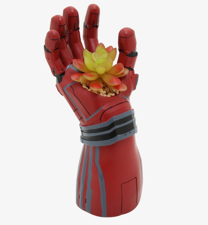 Iron Man Gauntlet Succulent Planter
