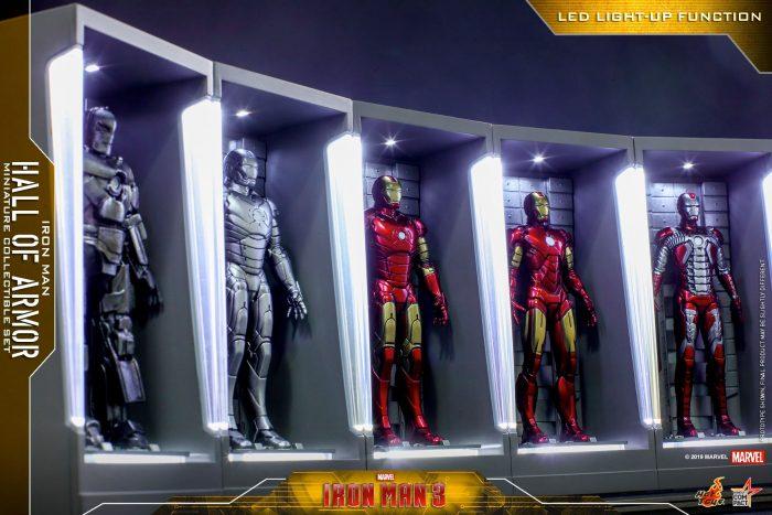 Miniature Iron Man Hall of Armor