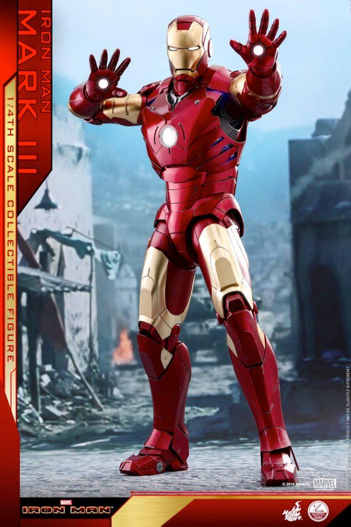 Iron Man - Mark 3 - Hot Toys Figure