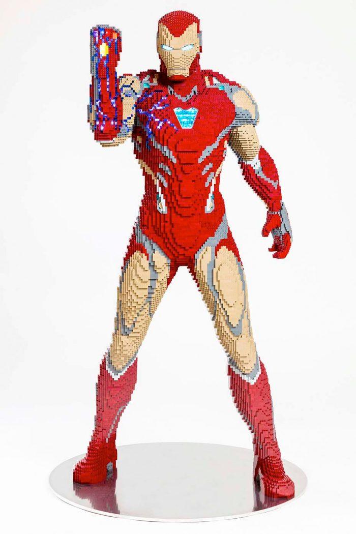 Iron Man LEGO Statue