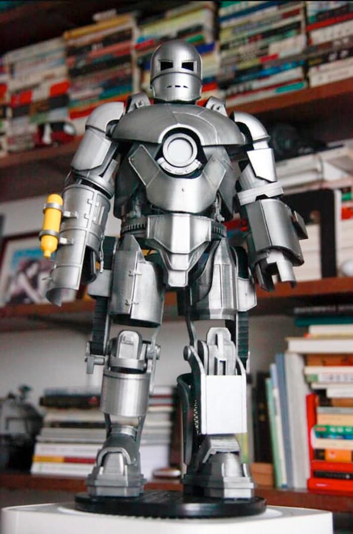Iron Man Mark I 3D Printed Figure