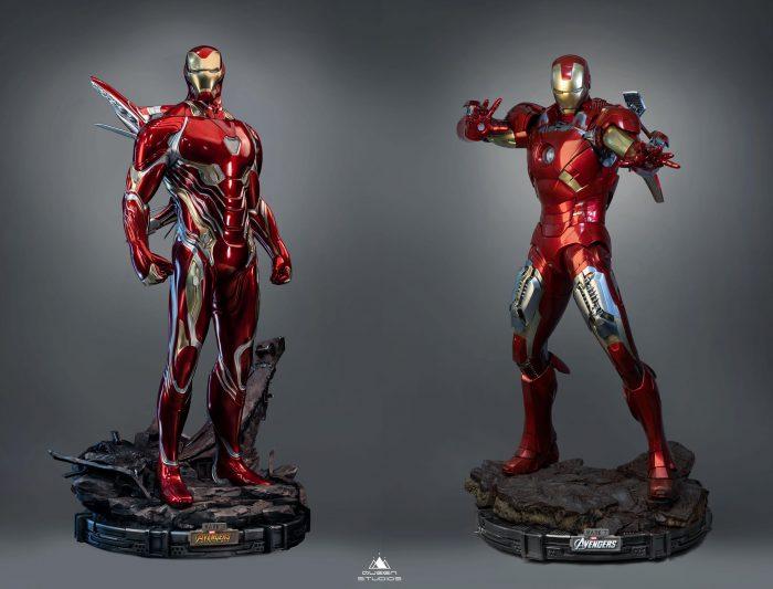 Iron Man Mark 50 Statue