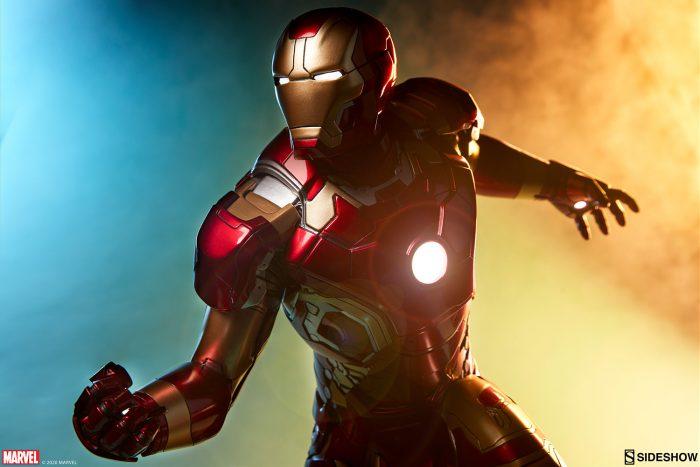 Iron Man Mark XLIII Sideshow Statue