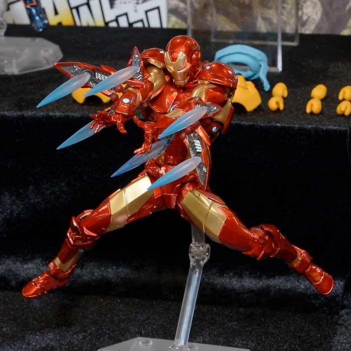Revoltech Iron Man Bleeding Edge Armor Figure