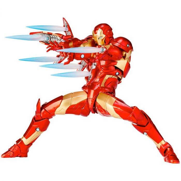 Iron Man Revoltech Figure Bleeding Edge Armor