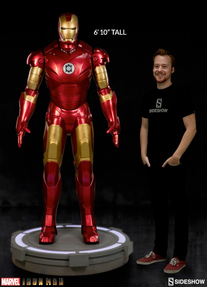 Iron Man - Sideshow Collectibles - Mark 3 Life-Size Statue