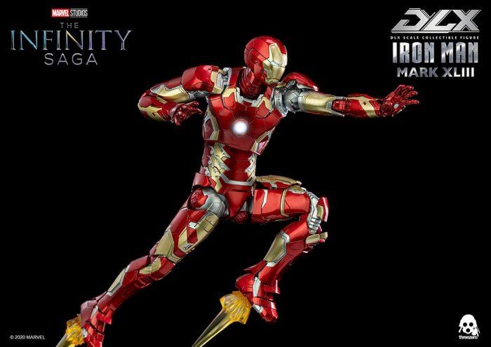 ThreeZero Iron Man Figure - Avengers: Age of Ultron