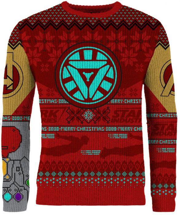 Iron Man Ugly Christmas Sweater