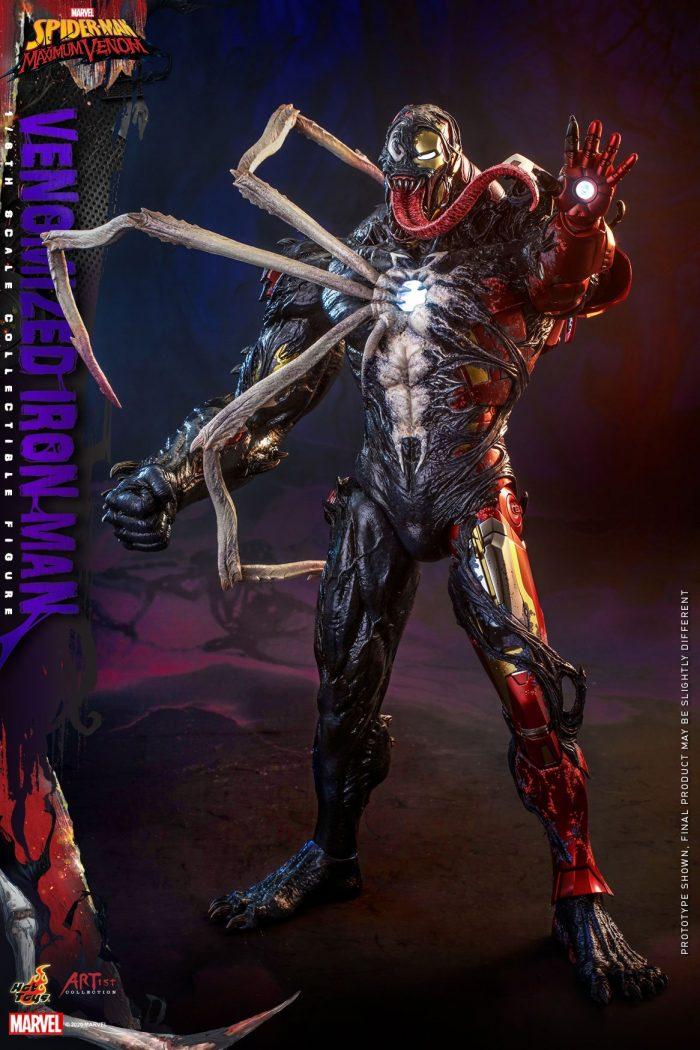 Venomized Iron Man Hot Toys Figure