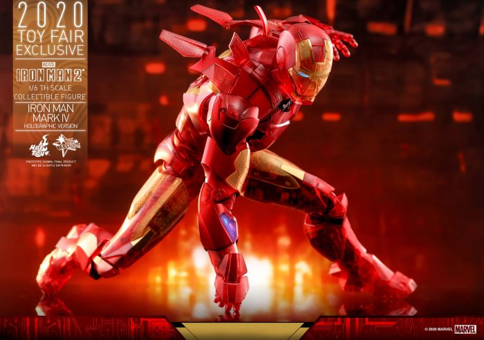 Hot Toys - Iron Man 2 Mark 4 Holographic Figure