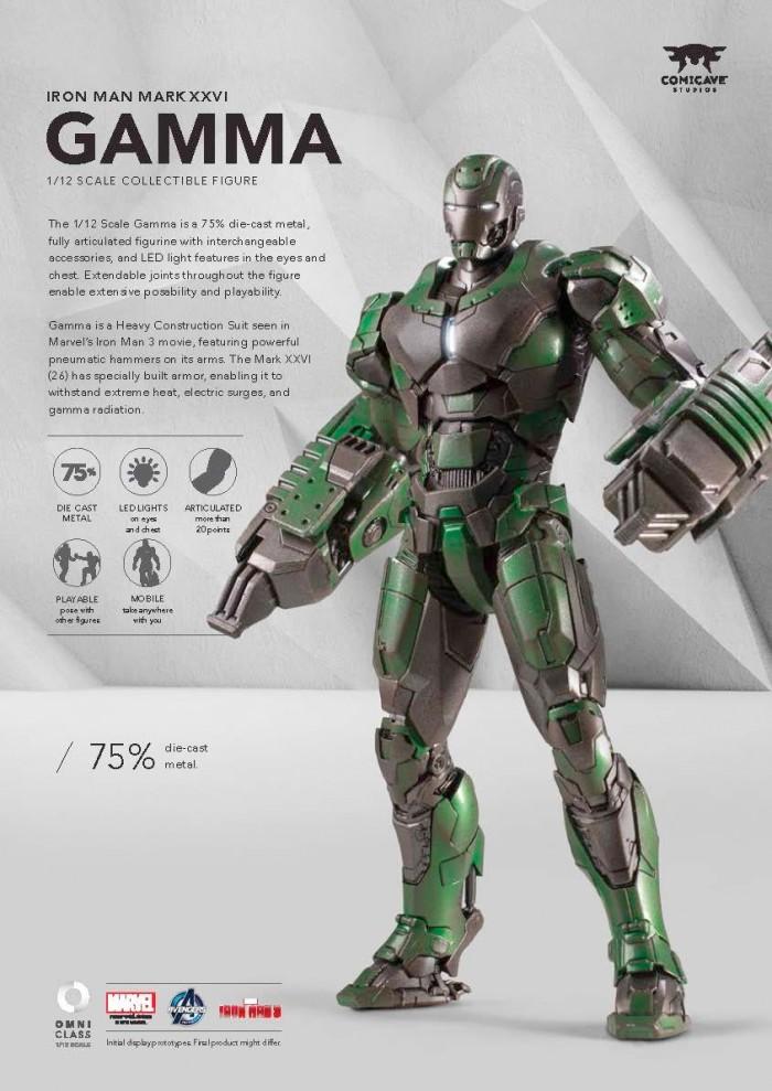 Iron Man 3 Gamma Armor Figure