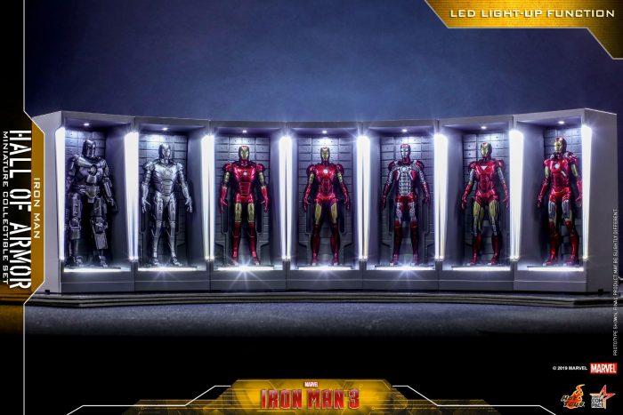 Iron Man Hall of Armor - Hot Toys