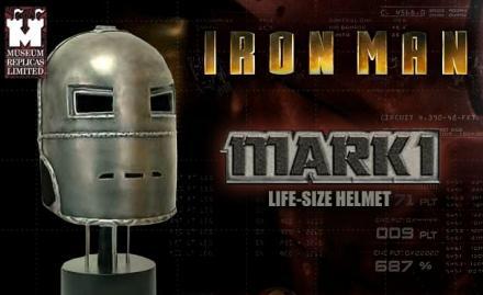 Iron Man Mark I Helmet