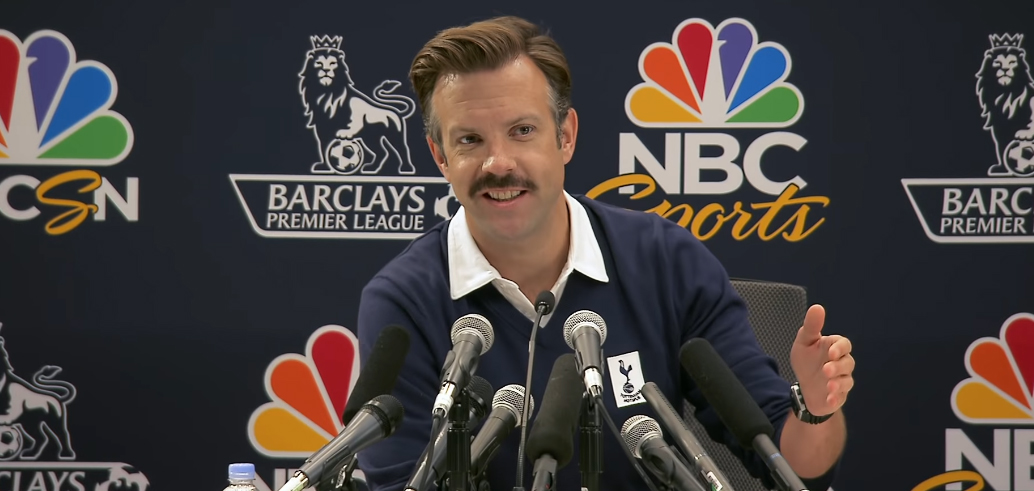 Apple Orders 'Ted Lasso' Comedy Series Written By and Starring Jason Sudeikis