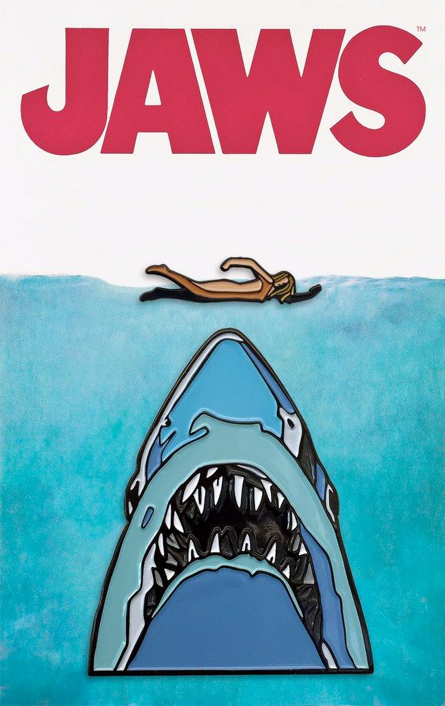 Jaws Mondo Pins