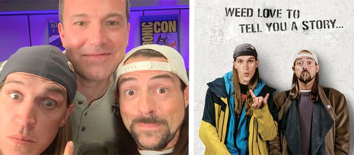 Kevin Smith and Ben Affleck Reunited
