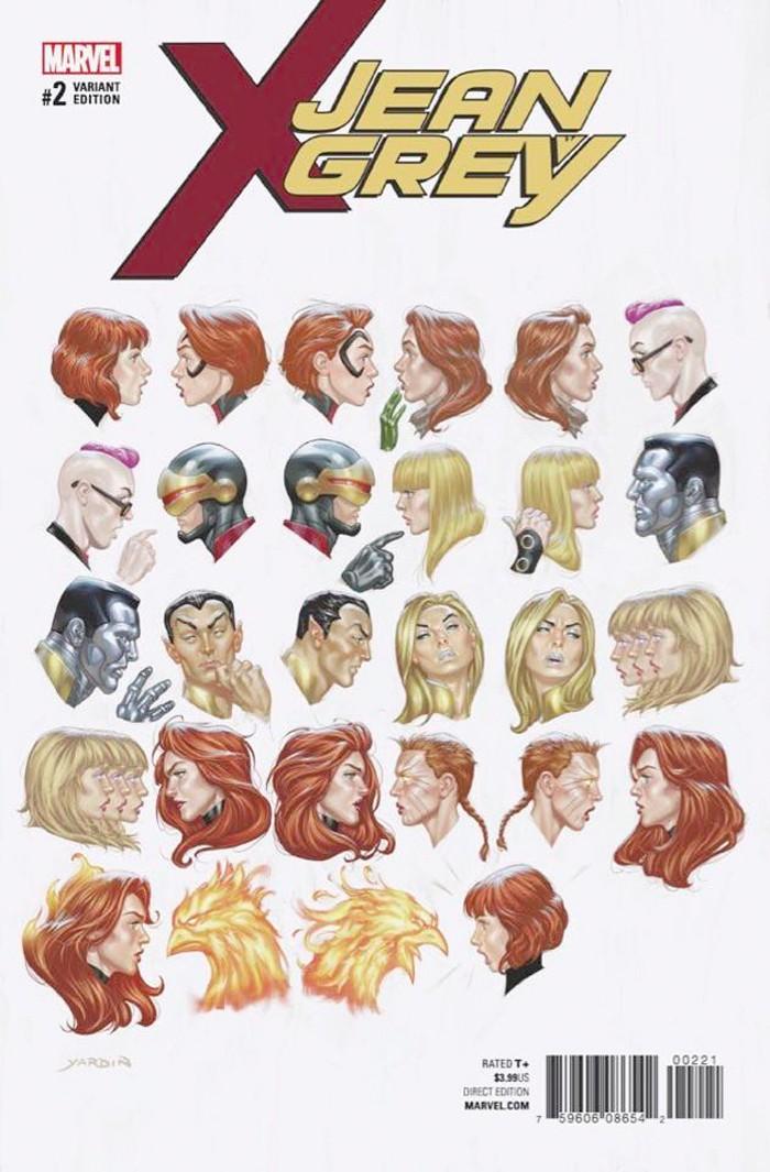 Jean Grey Variant Comic Cover