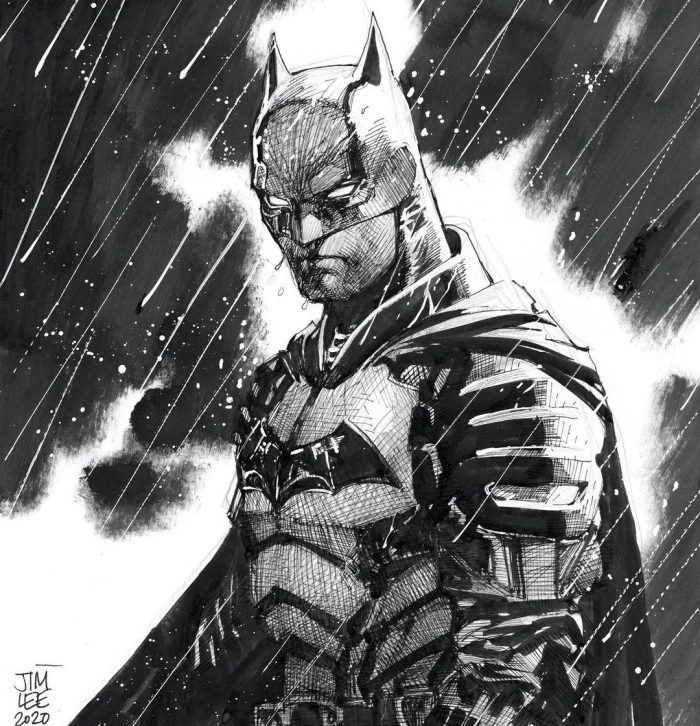 The Batman - Jim Lee Sketch