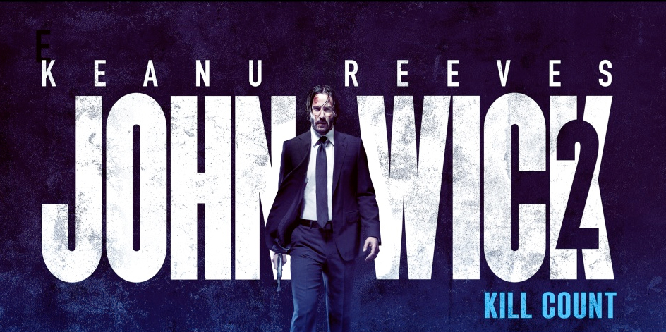 John Wick 2 Kill Count Infographic Racks Up All Keanu Reeves Kills