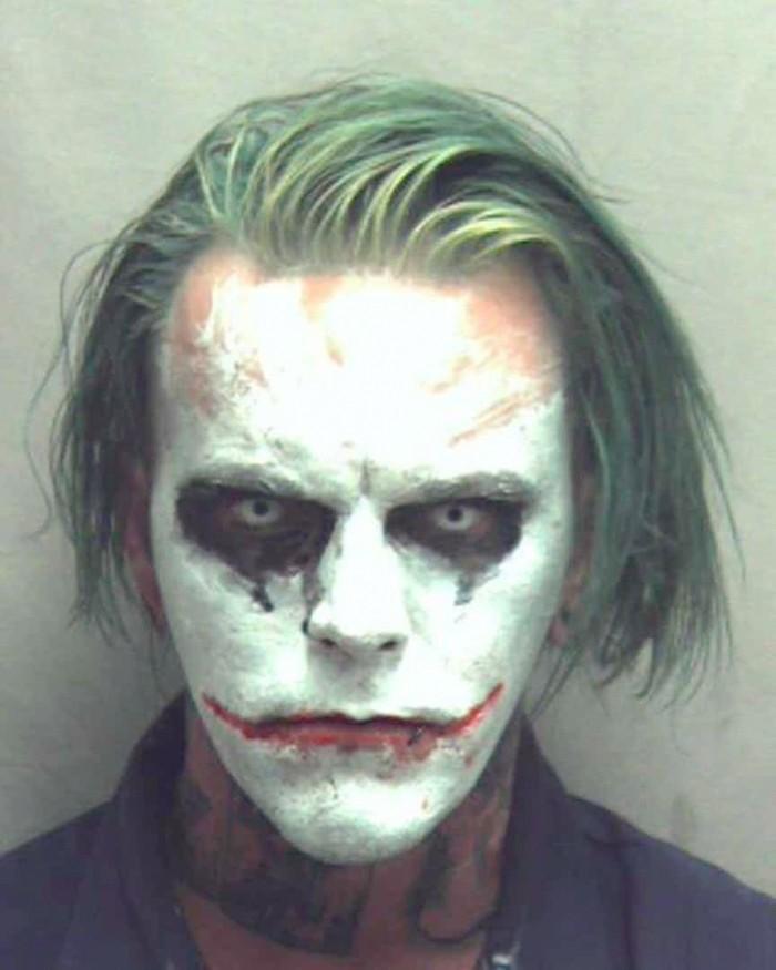 The Joker Mugshot